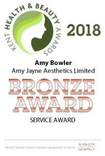 Amy Jayne Aesthetics | Service Award