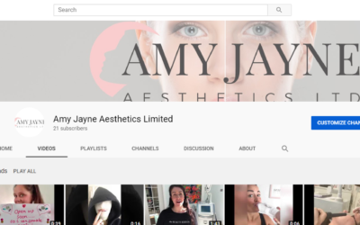 Welcome to my new You Tube Channel – 'Amy Jayne Aesthetics Limited'